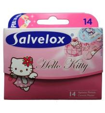 Tiras Salvelox Hello kitty 14 unidades