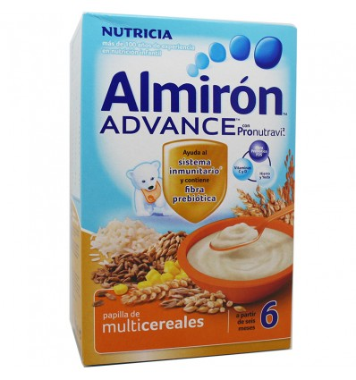 Oferta Almiron Advance Cereales Papilla multicereales 500 g