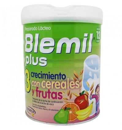 Blemil plus 3 crecimiento cereales y frutas