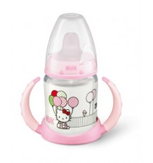Nuk Biberon Entrena Hello Kitty Rosa 150 ml