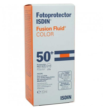 Fotoprotector Isdin 50 Fusion Fluid Color 50 ml