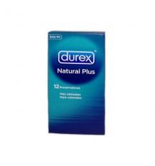 Durex Préservatifs Natural Plus de 12 unités