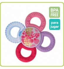Mam Teething Ring Twister Pink