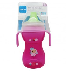 Mam Biberon Learn to drink 270 ml Rosa