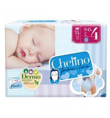 Chelino Pañal bebe talla 4 9-15 kg 34 unidades