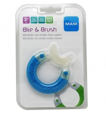Mam Teething Bite Brush Blue