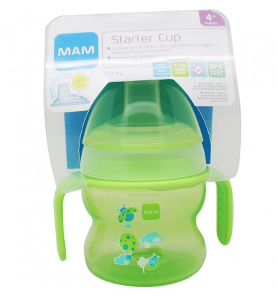 Mam Baby Taza Starter Cup Verde 150 ml