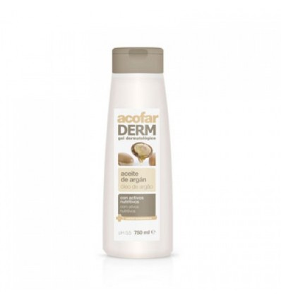 Acofarderm Badewanne und Dusche Gel Argan-Öl 750 ml