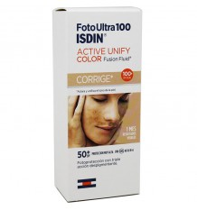 Fotoultra 100 Isdin Active Unify Fusion Fluid Color 50 ml corrige