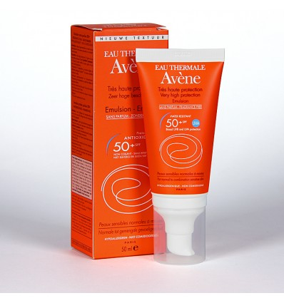 Avene 50 Emulsion Sin perfume 50 ml