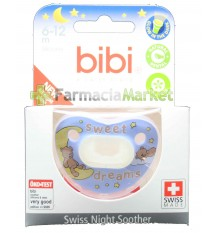 Bibi Soother Silicone Night Blue 6-12 months