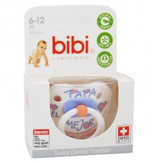 Bibi Soother Silicone Pope the better 6-12 months