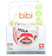 Bibi Soother Silicone Hello mama 6-12 months