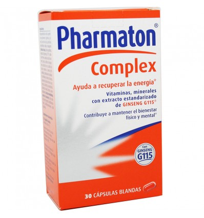 Pharmaton Complex 30 capsulas blandas