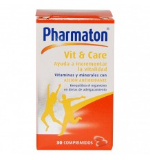 Pharmaton Vit & Care 60 comprimidos