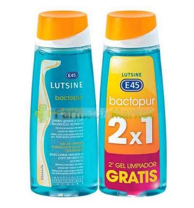 Lutsine Bactopur Gel Limpiador 200 ml Duplo