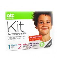 Otc Lice Permethrin Kit Lotion Conditioner Spray