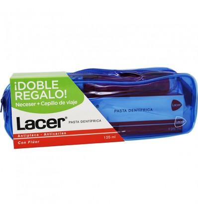 Lacer Pasta dental 125 ml Pack Cepillo Viaje