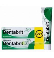 Dentabrit Fluorid-Zahnpasta Zweimal