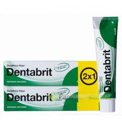 Dentabrit Fluor Pasta dental Duplo