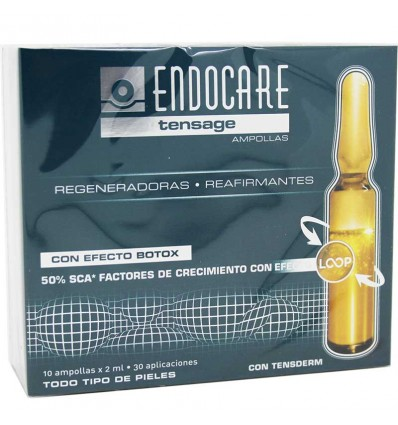 Endocare Tensage Ampollas 10 unidades