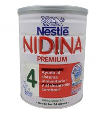 nidina 4 premium leche de crecimiento 800 gramos