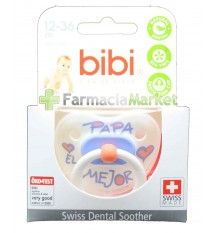 Bibi Soother Silicone Pope the best 12-36 months