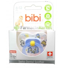 Bibi Soother Silicone Blue 6-12 months