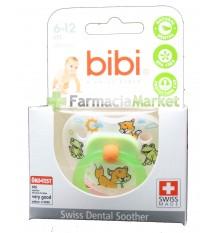Bibi Chupeta Silicone Verde 6-12 meses