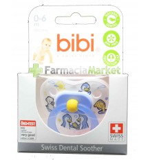Bibi Soother Silicone Blue 0-6 months