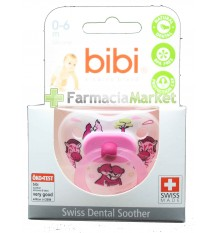 Bibi Soother Silicone Pink 0-6 months