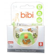 Angebot Bibi Nuggi Grün Silikon 0-6 Monate
