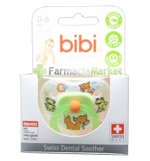 Offer Bibi Soother Green Silicone 0-6 months