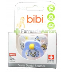 Bibi Soother Silicone Blue 12-36 months