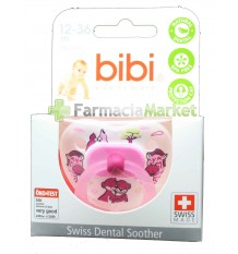 Bibi Soother Silicone Pink 12-36 months