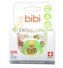 Bibi Soother Silicone Green 12-36 months