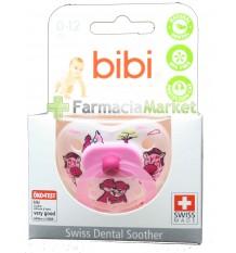 Bibi Chupete Latex Rosa 0-12 meses