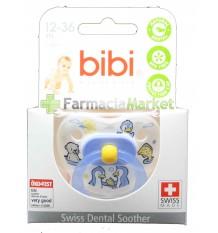 Bibi Sucette Latex Bleu de 12 à 36 mois