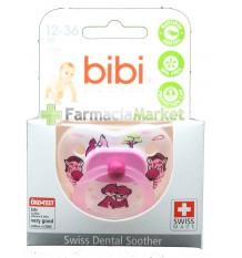 Bibi Chupeta Latex Rosa 12-36 meses