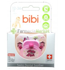 Bibi Soother Latex Pink 12-36 months