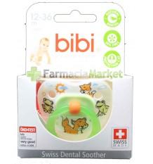 Bibi Sucette Latex vert de 12 à 36 mois