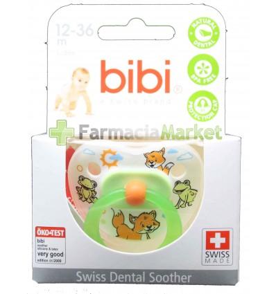 Bibi Chupete Latex verde 12-36 meses