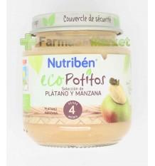 Nutriben Eco Potito Platano Manzana 130g