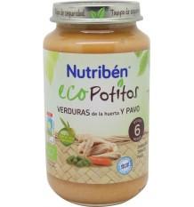 Nutriben Eco Potitos Pavo verduras 250g