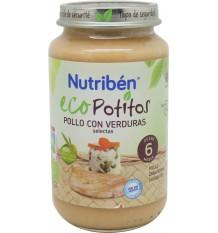 nutriben eco potitos pollo verduras 250