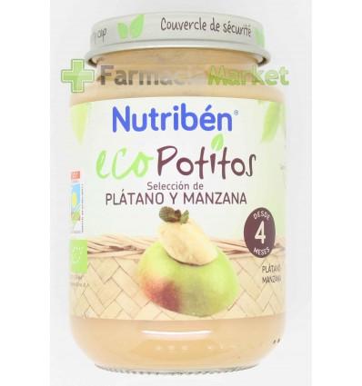 Nutriben Eco Potito Platano Manzana 200g