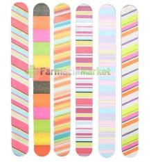 Lima de Carton de Colores