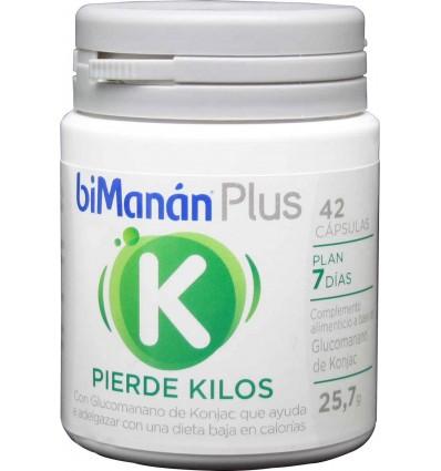 bimanan Plus K pierde kilos capsulas