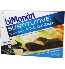 bimanan sustitutive chocolate blanco