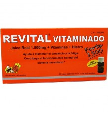 Revital Vitaminado Forte 1500mg 20 Ampollas